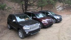 Chevy Equinox vs Ford Explorer vs Jeep Grand Cherokee Off-Road Review