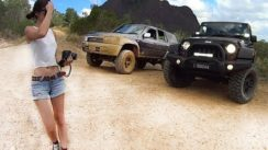 4X4 Toyota and Jeep Wrangler Off-roading