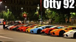 100 Lamborghini Line in Milan for 50th Anniversary