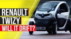 Renault Twizy – Will It Drift?