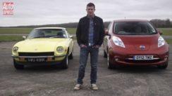 Datsun 240Z vs Nissan Leaf