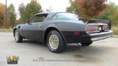 1977 Pontiac Firebird Trans Am SE Video Tour