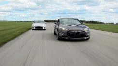 2013 Scion FR-S vs Hyundai Genesis Coupe Comparison