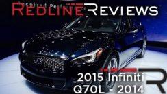 2015 Infiniti Q70L at New York Auto Show