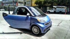 Smart ForTwo Electric Car Test Drive