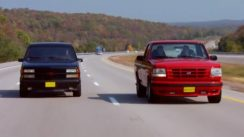 Muscle Truck War: Chevy 454 SS vs Ford Lightning F-150