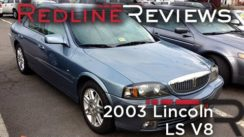 2003 Lincoln LS V8 Luxury Car Review & Test Drive