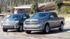 2014 Toyota Tundra vs Ram 1500 Towing Test