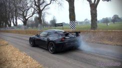 Lotus Evora GTE – Startups, Acceleration & Flybys