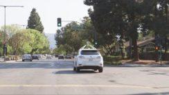 Google Self-Driving Cars Navigating City Streets