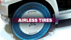 Futuristic Airless Tires