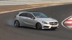 355HP Mercedes A45 AMG Driven