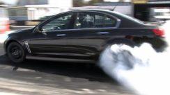 Holden VF Turbo Burnout!