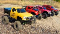 RC 4×4 Trucks in Action