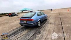 1996 SAAB 900 Turbo with 174 MPH Standing Mile