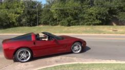 Old and New Chevy Corvette Acceleration