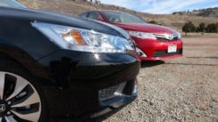 2014 Honda Accord vs Toyota Camry 0-60 MPH Hybrid Matchup Review