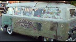 Volkswagen Bus Woodstock Hippie Van