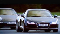 Audi R8 vs Porsche 911 Carrera