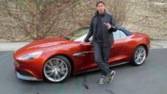 2014 Aston Martin Vanquish Volante Test Drive & Exotic Car Video Review