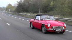 MGB Classic Car Driving Video