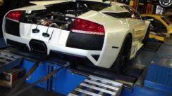 Unbelievable Lamborghini Murcielago Twin Turbo Dyno Pull