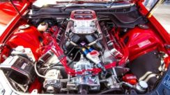 Modified Holden HSV with 1200+ HP
