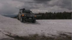 Hummer H3 Off-Road & in Deep Snow