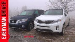 2014 Nissan Pathfinder vs Kia Sorento Off-Road Comparison