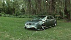 Acura TL on 20″ Vossen Rims