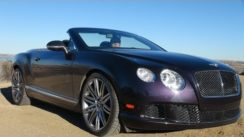 2014 Bentley Continental GTC Speed Convertible 0-60 MPH Review