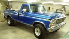 1979 Ford F250 4×4 Custom Lifted Pick-up