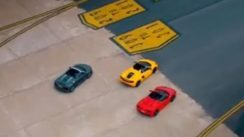 Supercar Runway Race