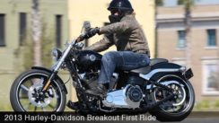 2013 Harley-Davidson Breakout Test Ride