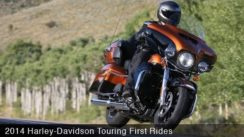 2014 Harley-Davidson Touring V-Twin Ride & Review