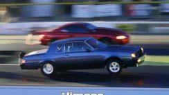 Mustang vs Buick Regal Drag Race