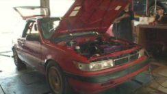 500HP 1989 Plymouth Colt Dyno & Driving