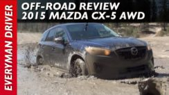2015 Mazda CX-5 AWD Muddy Off-Road Review