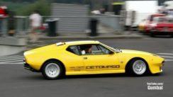 De Tomaso Pantera Exhaust Sounds!