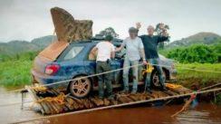 Top Gear Crossing African River