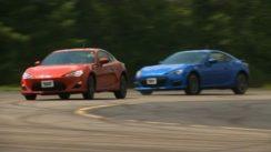 Scion FR-S vs Subaru BRZ Comparison Test Video