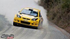 Proton Satria Neo S2000 Rally Car Video