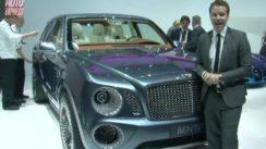 Bentley EXPF9 Concept SUV