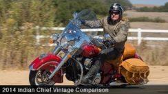 2014 Indian Chief Vintage vs Harley Heritage Softail
