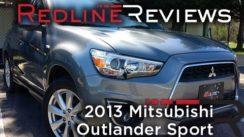 SUV Review: 2013 Mitsubishi Outlander Sport