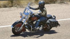 2009 Indian Chief Motorcycle Test