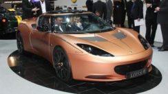 Lotus Evora 414E Hybrid Concept at Geneva Auto Show