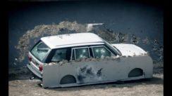 DIY Bond Car Bulletproof Range Rover