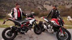 2014 Ducati Hypermotard SP vs MV Agusta Rivale