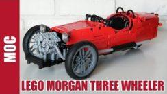 Cool Lego Morgan Three Wheeler